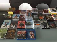 Various DVD's and Blu-ray