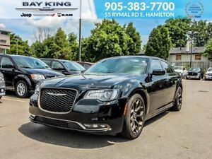 2017 Chrysler 300 ALLOY EDITION, GPS NAV, SUNROOF, BACKUP CAM