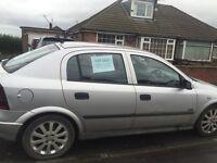 Vauxhall Astra 1.6 sxi manual petrol