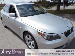 2007 BMW 5 Series 525i ** CERT & E-TEST ACCIDENT FREE ** $7,999