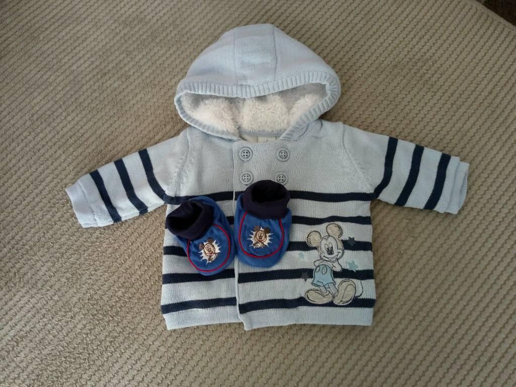 Newborn Disney Jacket and Booties