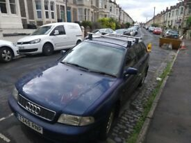 AUDI A4 ESTATE. 1999. Very reliable, long MOT.