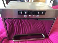 Whirlpool integrated micro/oven in good condition
