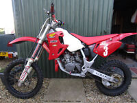 honda cr80 small wheel motox