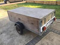Trailer 6x3ft with removable top.