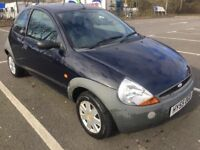 FORD KA 1.3 MANUAL,,3 DOOR HATCHBACK,,LONG MOT,, 2 KEYS,,PART SERVICE £770