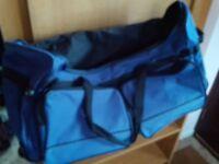 Blue holdall