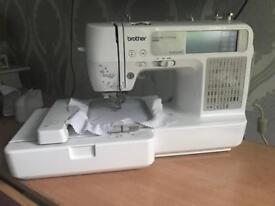 Brother embroidery machine se425