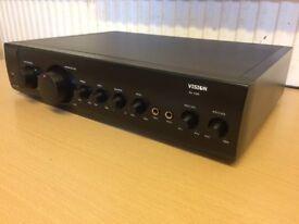 Vision AV 1300, Karaoke Amplifier, Crisp Clear Sound, Fully Working Good Condition.