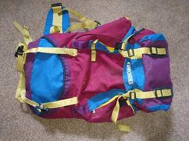 Retro 50L Bag pack Eurohike Adventure 602