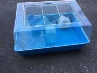 Large Hamster Cage blue
