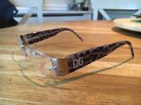Selection of designer glasses frames