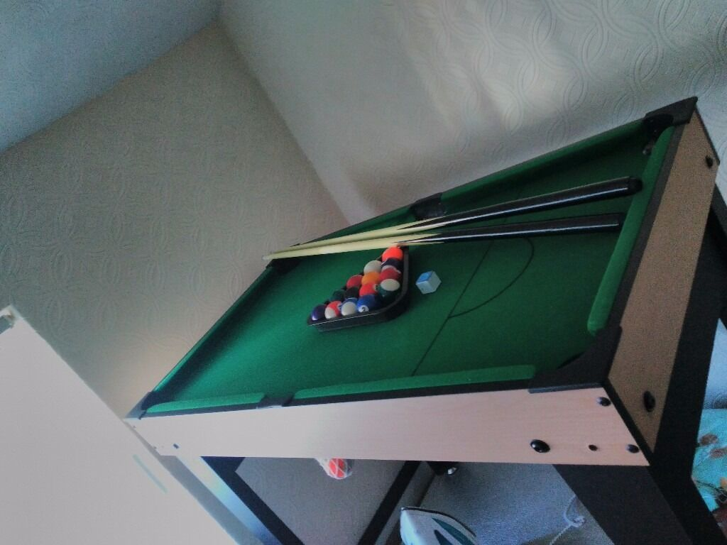 Brand New Kids 3ft Pool Table