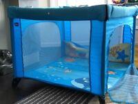 Chicco Sea Dreams open play box