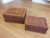 Pair of Wicker Baskets