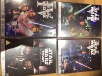 Star Wars classic films DVD