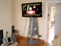 Freestanding / Collapsable TV Stand - Ideal for Exhibitions, Presentations Bournemouth