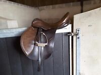 Selection of second hand leather saddles for sale