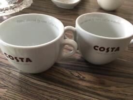 Large Costa mugs