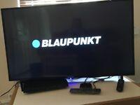 """NEW 43"""" Blaupunkt Smart, Freeview TV"""