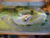 Kato track N gauge layout (REDUCED PRICE).