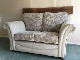3 seater and 2 seater grey sofa
