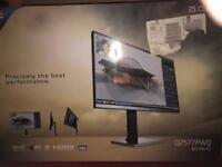Used AOC Pro-line Q2577PWQ 25 QHD LED Monitor 2560 x 1440 16:9 Height Adjust