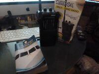 Omega 4998 Multi Band Radio Cb Receiver FM Air CB TV & BOOK