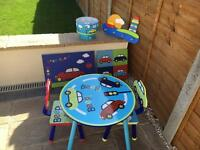 Beep beep children's furniture set