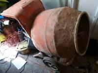 Concrete mixer 110v