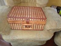 Attractive Wicker Picnic Basket
