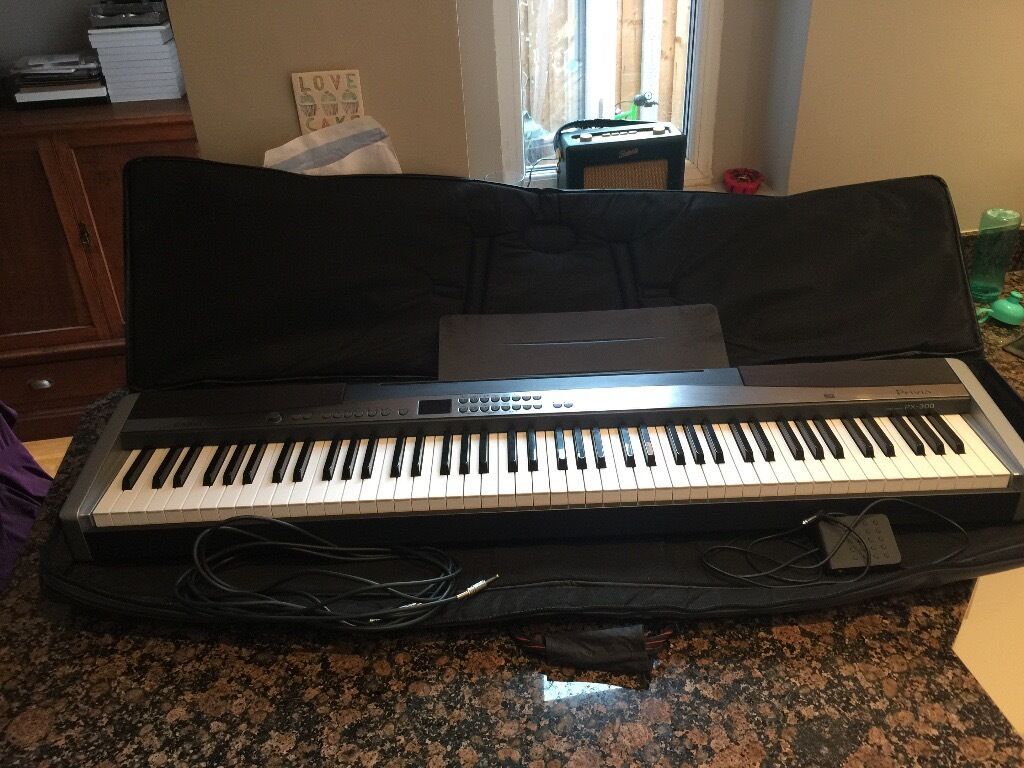 Casio Privia PX300 digital piano with hammer actionin Gloucester, GloucestershireGumtree - Casio Privia PX300 digital piano comes with padded gig bag and pedal. Has a particularly good Fender Rhodes sound, in additional to real piano sounds. For lots more detail the Casio Privia PX300 manual can be found on the Casio website. 168 total...