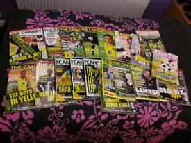 Norwich City mags for sale