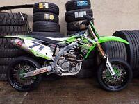 KXF 450 supermoto/motocross Wheels 2012