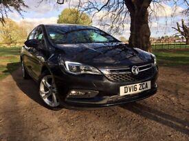 2016 Vauxhall Astra 1.4T 16V 150 SRi Nav 5dr Petrol BLACK