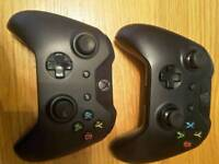 Xbox one controllers x 2