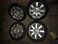 """mk5 golf wheels and tyres 16"""""""
