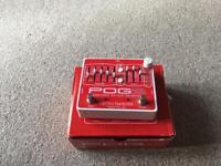 Electro Harmonix POG 2 with 9v power supply.
