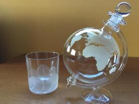 Stylish Globe Decanter. Super Xmas present