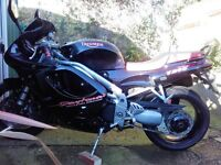 Triumph Daytona T595 in vgc for year + extras, sale or swap for Smart car
