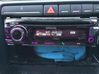 Kenwood stereo almost new kdc_bt50u