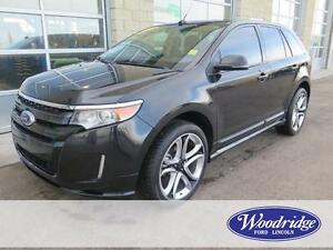 2013 Ford Edge Sport 3.7L V6, AWD, LEATHER, NAV