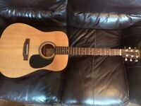 Acoustic Guitar by Encore immaculate with case