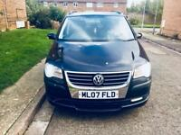 Volkswagen touran 1.6 3 month mot 12 month tax 1 owner from new low mileage £2895