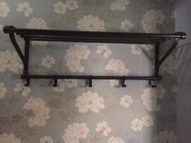 Beautiful metal coat rack