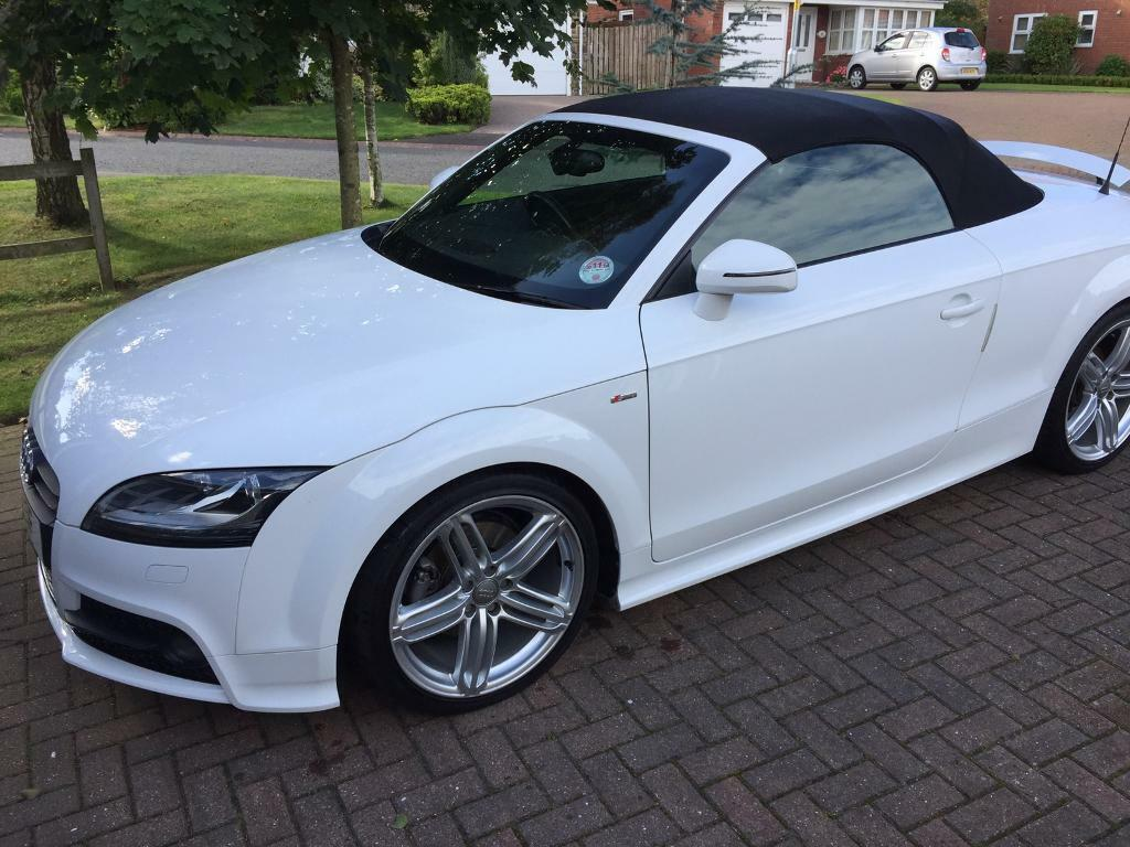 audi tt roadster s line 2011 in bedlington. Black Bedroom Furniture Sets. Home Design Ideas
