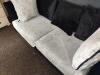 Free crushed velvet sofa, rocking chair,settee