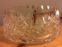 Very detailed Cut Glas ftom the 60s