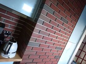For sale just over 6 square mtrs brick slips