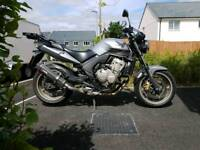 Honda CBF600 motorbike 2011